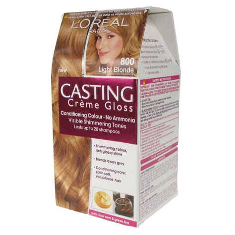 Now i've left the pixie cut and damaged tresses behind, and my hair is looking healthier than ever. L'Oreal Paris Casting Creme Gloss Hair Color Dye - 800 ...