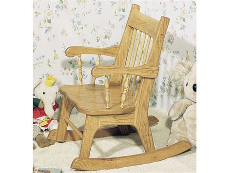 indoor furniture plans childs rocker plan