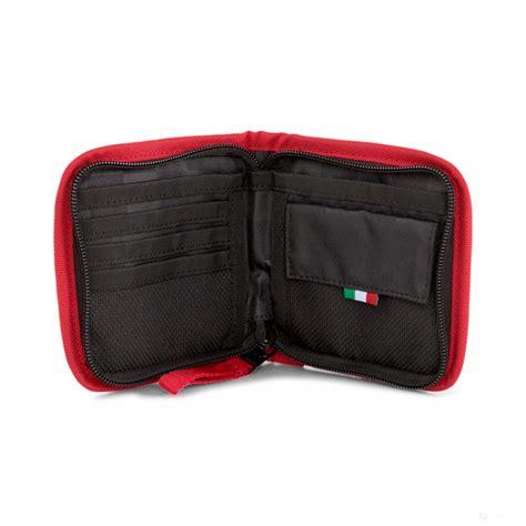 Puma ferrari mens lifestyle wallet fan slim fold card holder red 074847 02. 2020, Red, Puma Ferrari Race Wallet