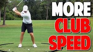 How To Increase Club head Speed with Ground Pressure ...
