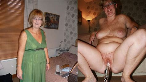 Mature Fuck Before After