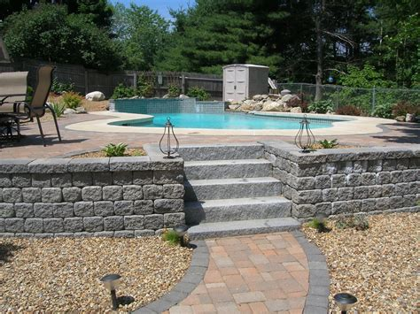 pool patios water features idea gallery