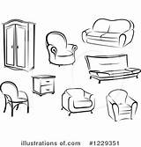 Furniture Clipart Clip Illustration Royalty Vector Similar Tradition Sm Panda Rf Webstockreview Illustrationsof sketch template