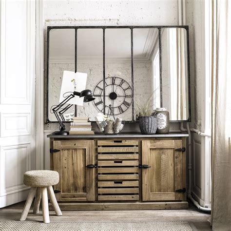 meuble indien maison du monde fashion designs miroir indus en métal l 180 cm cargo verrière maisons du
