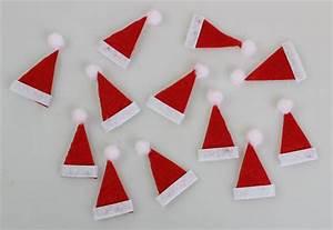 Weihnachtsmann Basteln Aus Pappe : nikolaus m tze aus stoff 5 cm 12 st ck eur 1 99 ~ Haus.voiturepedia.club Haus und Dekorationen