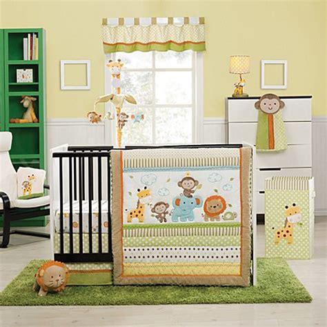 jungle crib bedding buy kidsline safari 4 crib bedding set from