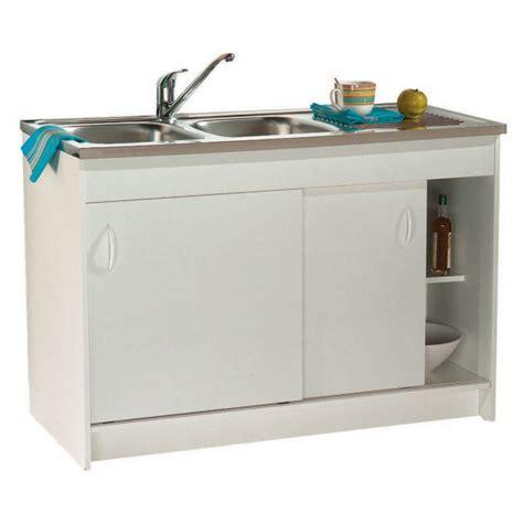 meuble cuisine 100 cm meuble sous evier 100 cm pas cher