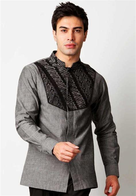 Pria Dan Wanita Dewasa Aneka Model Baju Batik Pria Kombinasi Trendy Masa Kini 2016