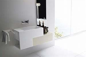 meuble salle de bain en teck et en bois moderne With salle de bain design avec meuble en bois pour salle de bain