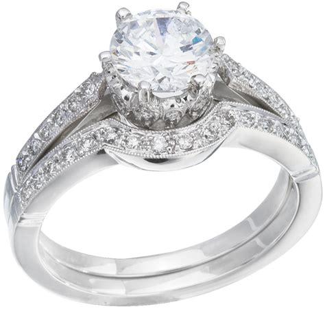 wedding ring set white gold with diamonds