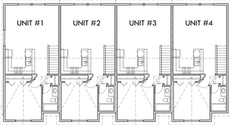 multifamily house plans reverse living house plans