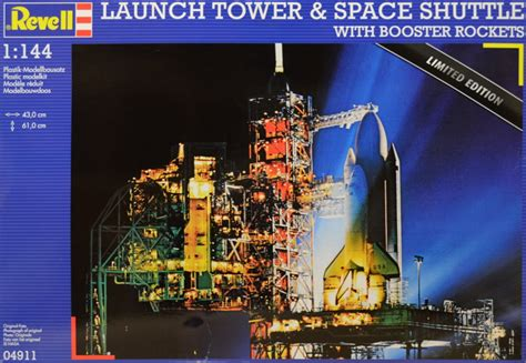 revell nasa limited edition  scale launch tower