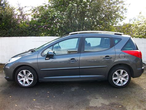 peugeot 207 new peugeot 207 sw 1 6 hdi sport 5dr cruise control one