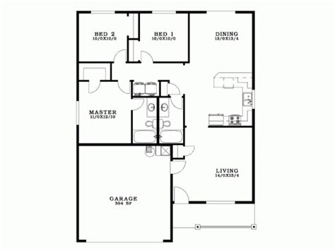 what is a bungalow house plan 3 bedroom bungalow house plans with garage escortsea