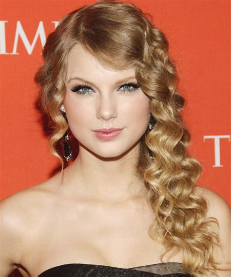 ly hairstyles taylor swift long curly hairstyle