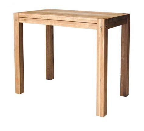 table haute cuisine bois table haute cuisine bois maison design modanes com