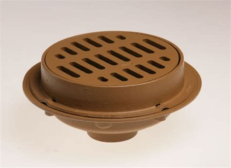 """Heavy Duty Floor Drains With 12"""" Top Solid Free Standing"""