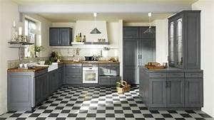 Une Dco De Style Maison De Famille Dans La Cuisine