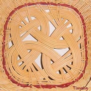 reed base  square basket  images paper