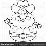 Prospector Coloring Cartoon Template Sketch sketch template