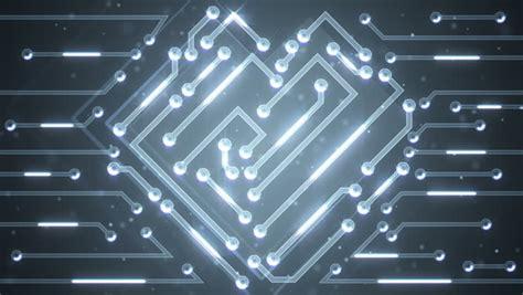 Dark Blue Circuit Board Electronic Tech Royalty