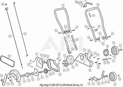 Parts Assembly Diagram 25a General E29 Craftsman