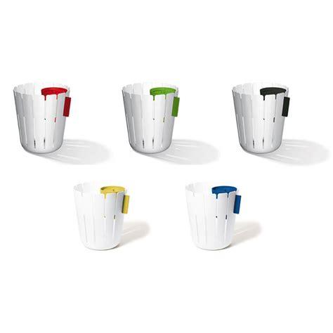 poubelle bureau design corbeille à papier deco poubelle de bureau sl17 blanc