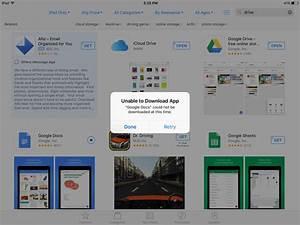 app store unable to download app fix macreports With google docs download app store