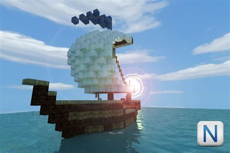 Minecraft Boat Banner by To Sail Mini Boat 1 Minecraft Project