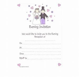 bride and groom wedding evening invitations pack 20 With packs of wedding evening invitations