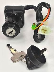 Ignition Key Switch For Suzuki 2003 2004 Lt160 Quad Runner