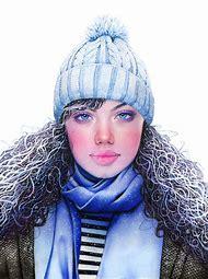 Morgan Davidson Colored Pencil Drawing