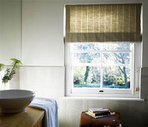 Choose the right window blind for your bathroom china for Window treatments for the bathroom