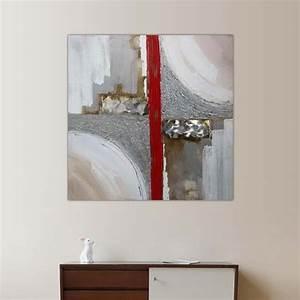 peinture design industriel et geometrique With couleur beige peinture murale 16 tableau style industriel contemporain