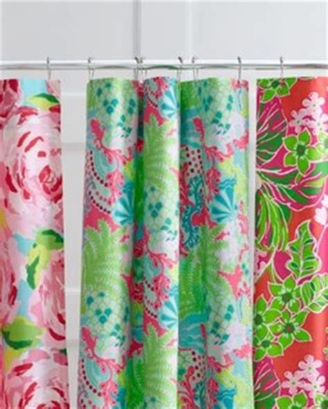 lilly pulitzer curtains lilly pulitzer florals shower curtain modern