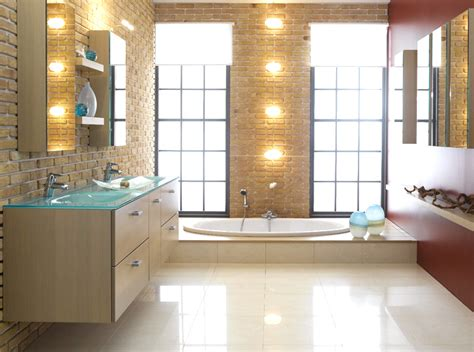 Modern Bathroom Designs Schmidt  Modern House Plans