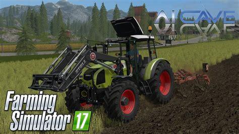 farming simulator  mods tractor claas axos