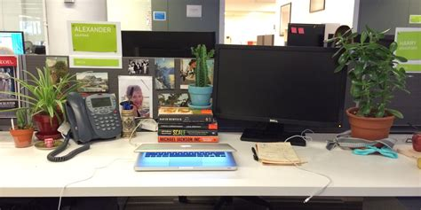 desk job   plants alexander