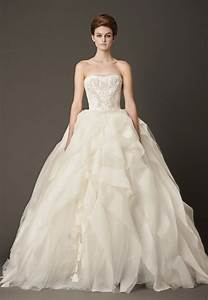 Dressybridal vera wang fall 2013 ruffled wedding gowns for Vera wang wedding dresses