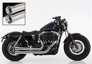 Harley Davidson Sportster Exhaust Xl 1200 2006 Up Magnum