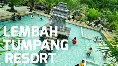 wisata  lembah tumpang resort  candi  tengah kolam