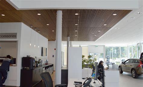 volvo dealership linea ceilings