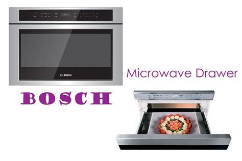 bosch microwave drawer the microwave drawer