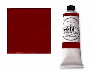 Save On Discount Gamblin Artists U0026 39  Oil Paint  Venetian Red