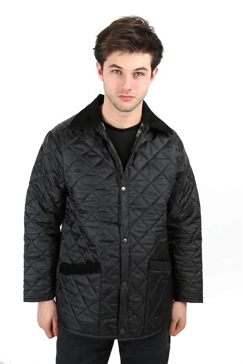 mens quilted coat mens country wear quilted padded style