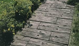 Betonplatten Mit Holzstruktur : betonplatten in holzoptik wettemann gmbh holzoptik platten latio natura terrassenplatten ~ Markanthonyermac.com Haus und Dekorationen