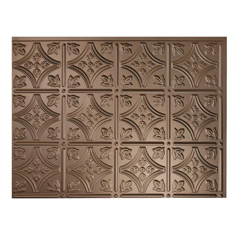 fasade decorative thermoplastic panels fasade 24 in x 18 in traditional 1 pvc decorative