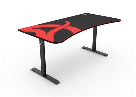 grey stand arena gaming desk arozzi