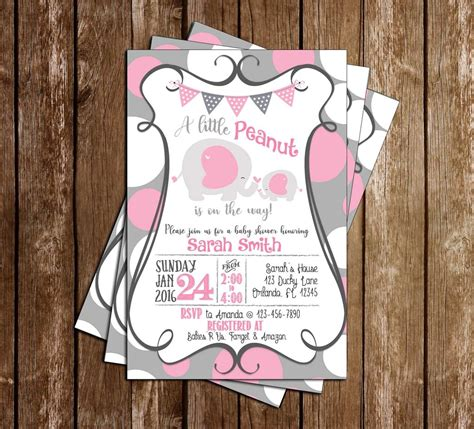 concept designs baby elephant baby shower