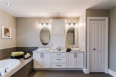 photo de salle de bain armoires vanit 233 s de salles de bains sur mesure armodec